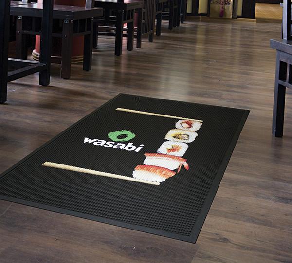 Premium Scraper Logo Mat